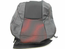 New OEM 2011 Mazda 3 Right Front Upper Seat Cover Black/Red Cloth/Leather