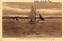 CPA  Bretagne - Sables-d'Or-les-Pins -Les Régates devant la Plage  (243301)