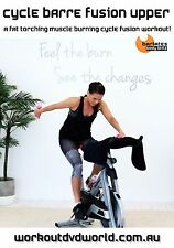 Cycle Bike Cycling EXERCISE DVD - Barlates Body Blitz CYCLE BARRE FUSION UPPER!