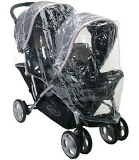 RAINCOVER TO FIT COSATTO SHUFFLE TANDEM PUSHCHAIR