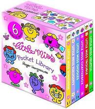 Little Miss Pocket Library by Roger Hargreaves (Board book, 2010)
