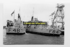 rp3231 - Royal Navy Warships - HMS Dundas & HMS Exmouth - photo 6x4