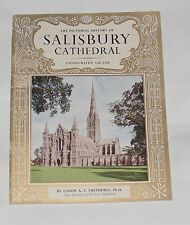 GUIDEBOOK - THE PICTORIAL HISTORY OF SALISBURY CATHEDRAL 24 PAGES PITKINS
