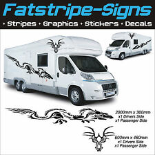 DRAGON GRAPHICS MOTORHOME VINYL STICKERS DECALS CAMPER VAN RV CARAVAN HORSEBOX