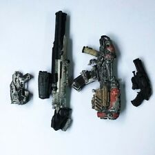4pcs/set Gears Of War Weapons accessories Rare Figure toy QA79