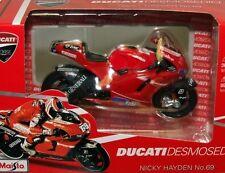 Maisto 1:18 - Motorbike - Ducati Desmosedici Nicky Hayden 69 - 2010
