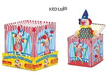 Traditional Jack In The Box Musical Pop Up Clown Toy Birthday Christmas Gift