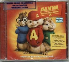 ALVIN AND THE CHIPMUNKS SQUEAKQUEL SOUNDTRACK CD NEW 2