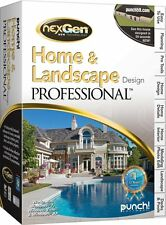 punch home & landscape professional (Pc - win 7, vista, xp)*New,Sealed*