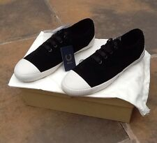 BNIB Men's Fred Perry Black Wardour Suede Shoe. Size UK9.5. Storage Bag.