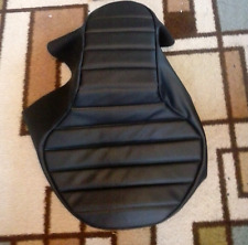 KAWASAKI EN 450-454 LTD 1985-1990 Custom Hand Made Black Motorcycle Seat Cover