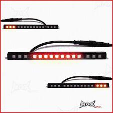 LED Billet Alloy Bar Stop Tail Light Indicators - Cafe Racer Project Bike