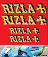 RIZLA Racing 4qty DECALS Stickers AMA MotoGP FREE SHIPPING