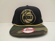NEW ERA NBA HOUSTON ROCKETS HIDDEN METALLIC CAMO A-FRAME SNAPBACK CAP HAT