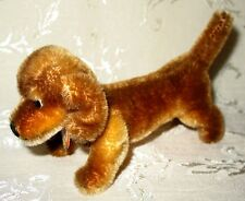"Steiff -Miniature Dachshund named ""Hexie"" with Tag, 3""H x 5.5""L"