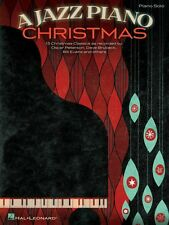 A Jazz Piano Christmas Sheet Music Piano Solo Songbook NEW 000119641