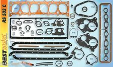 Chevy 216 235 Full Engine Gasket Set BEST 1937-53* COPPER Head+Manifold+Oil Pan