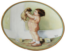 Hamilton Collection A Child's Best Friend Plate Mine by Bessie Pease Gutmann