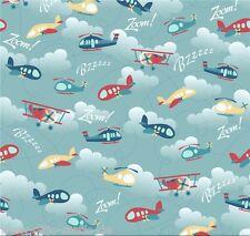 Patchworkstoff Hubschrauber Stoffe Kinderstoffe Patchwork Baumwollstoffe Kinder