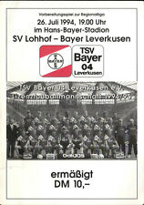 Ticket 26.07.1994 SV Lohhof - Bayer 04 Leverkusen