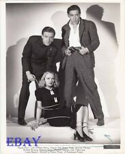 Babe bound w/rope, Anthony Quinn VINTAGE Photo Anthony Quinn Parole Fixer
