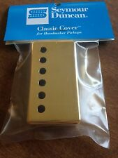 Seymour Duncan Metal Humbucker Pickup Cover Gold Plated New