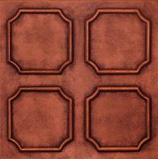 Styrofoam Ceiling Tiles 20x20 Painted R1 Antique Copper