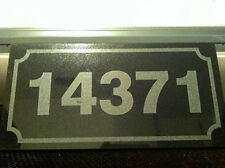 Granite Address Plaque or Custom Lettering Laser Etched