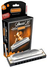 Hohner Special 20 Harmonica, Key of C Sharp, Brand New In Box