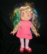 "16"" VINTAGE 1995 UP & UP GLO RAINBOW BRITE HALLMARK STUFFED ANIMAL PLUSH DOLL"