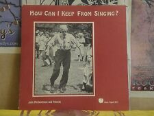 JOHN MCCUTCHEON, HOW CAN I KEEP FROM SINGING - JUNE APPAL LP JA 003