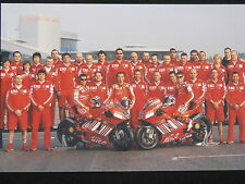 Photo Marlboro Ducati Desmosedici GP7 2007 Team #27 Stoner & #65 Capirossi