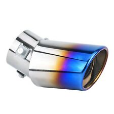 "Small Car Accessories Exterior 2.5"" Silencer Exhaust Muffler End Tail Pipe Tip"