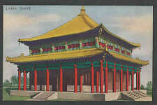 1933 PPC CHICAGO WORLDS FAIR LAMA TEMPLE SIMILAR TO ONE IN BEI JING CHINA MINT
