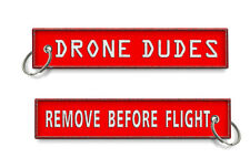 Drone Dudes-Remove Before Flight Keychain x1