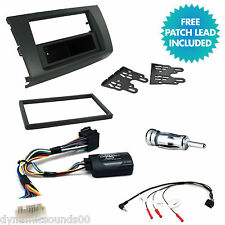 CT24SZ02 Single Din Stereo Radio Facia Fascia Fitting Kit For Suzuki Swift 05-11