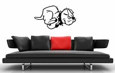Wall Stickers Vinyl Decal Nursery Dog Animal Pet For Kids ig1459