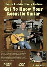 Get to Know Your Acoustic Guitar [DVD] (2011) Lanham, Marty, MB-DML1