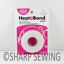"HEAT N BOND REGULAR IRON ON ADHESIVE HEMMING TAPE - 3/8"" (9.5mm) x 10yds #3722"