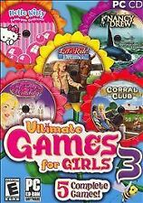 Ultimate Games for Girls 3 (PC, 2007) DISC 2 And 3 Only