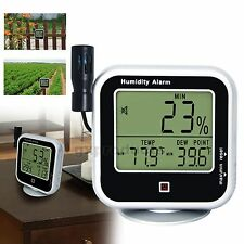Indoor Outdoor Temperature Relative Humidity Dew Point Thermo-Hygrometer