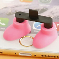 Shoes Stand Data Port Dust Plug For iPhone 4 iPhone5 Cute Shoes Appearance