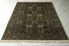 Exklusiv Natur Seide China Orient Teppich 242x152 Natural silk Carpet Rug Tapete