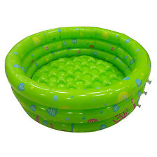 80cm Inflatable Swimming Pool Ball Pit For Baby Kids Outdoor Indoor Party Green