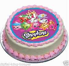 Shopkins Cake topper edible image icing REAL FONDANT 653