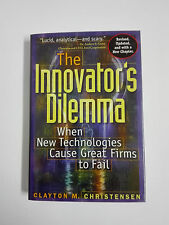 The Innovator's Dilemma Clayton M Christensen 1997 Hardcover Revised and Updated