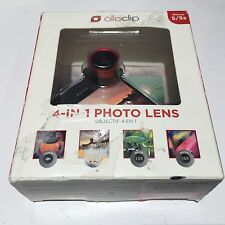 New Olloclip iPhone 5/5S Red Black 4-In-1 Quick-Connect Photo Camera Lens