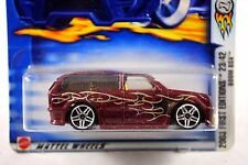 HotWheels 2003 No: 035 CADILLAC BOOM BOX 1st Edition Car MINT on Card