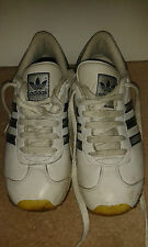 Mens Trainers - Adidas Originals W.B.A. - White With Silver - Size 5 UK / 5.5 US