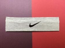 "Nike headband. Light grey. 2.25"" wide"